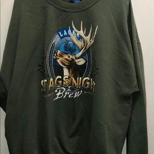 Men's Puritan Stag's Night Sweatshirt